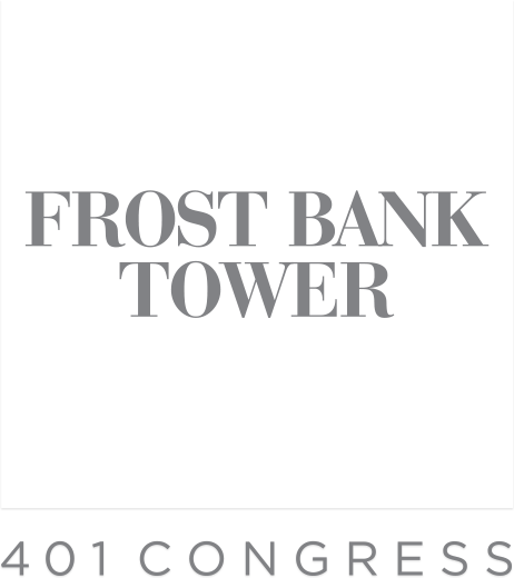Frost Bank Tower Austin Office Building Logo